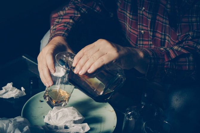 Агресія викликана алкоголем