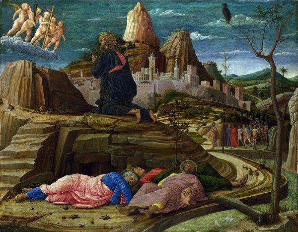 Андреа Мантенья. Моління про чаше.ок.1455.