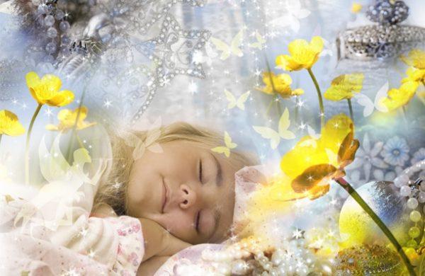 Діти теж бачать яскраві сни