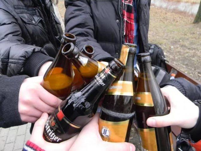 формування алкогольної залежності