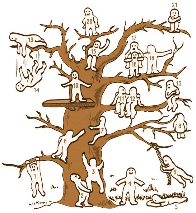 Де ви на цьому дереві?