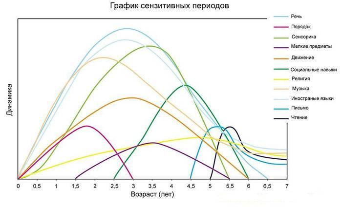 Графік Сентизивні періодів
