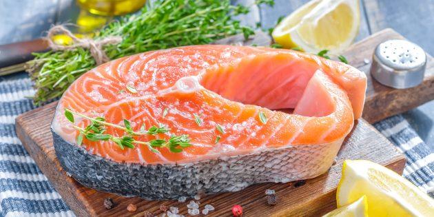 Як зменшити стрес за допомогою харчування: лосось