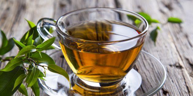 Як зменшити стрес за допомогою харчування: зелений чай