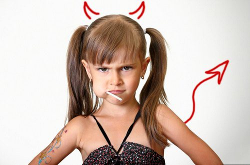 Нервовий і неслухняний дитина