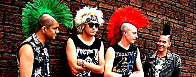 панк-рокери