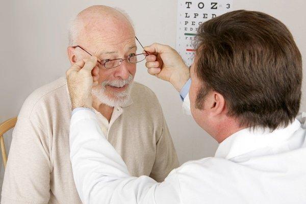 Втрата зору при інсульті