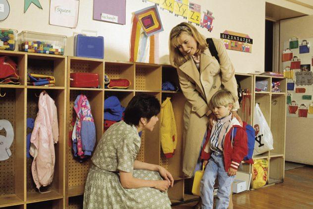 попереднє знайомство з вихователем спрощує процес адаптації