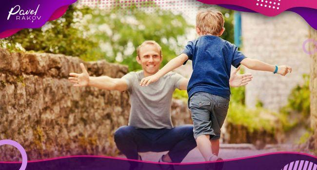 Нехай діти зустрічають батька